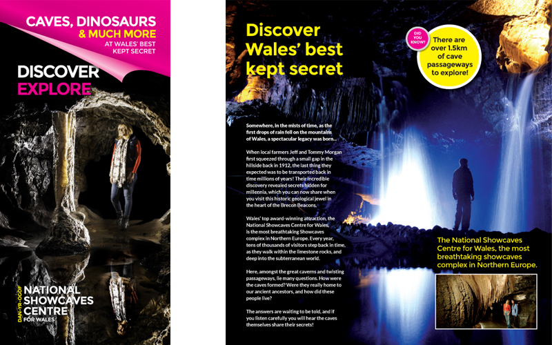 National Showcaves Centre Wales Brochure
